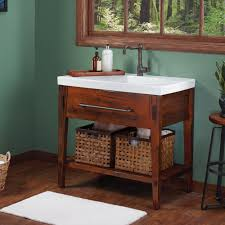 rustic pine bathroom vanities. 36\ Rustic Pine Bathroom Vanities T