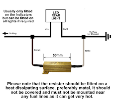 load ballast resistor for 12v led lights at western towing load ballast resistor for led lights wiring diagram