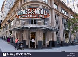 Barnes and Noble bookstore entrance and sign Washington DC