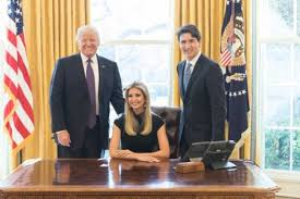 Desk in oval office Reagan The Latest Political Rorschach Test Picture Of Ivanka Trump Seated At The Oval Office Desk The Washington Post Washington Post The Latest Political Rorschach Test Picture Of Ivanka Trump