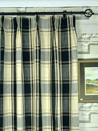 black plaid curtains tartan shower curtain large size of red and buffalo