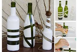 Wine Bottles Decoration Ideas Decorative wine bottles ideas art ideas crafts 60