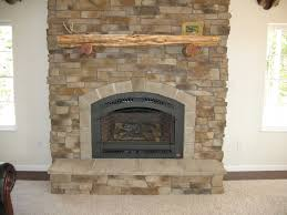 cultured stone fireplace with wood mantel vintage home decor home decor