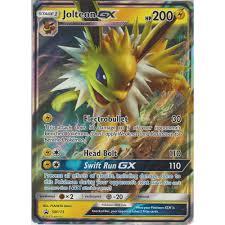 Pokémon Individual Cards Pokemon Card JOLTEON GX Ultra Rare SM173 SUN and  MOON PROMO *MINT* woodland-resort.com