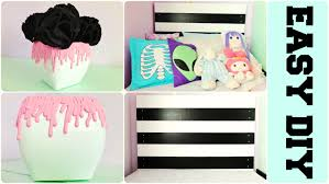 Room Decor Diy Diy Pastel Goth Easy Room Decor Paint Drip Vase Black White