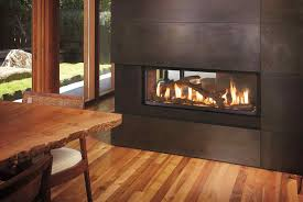 doublesided see through wood burning fireplace wood fireplace seethrough fireplaces by acucraft indoor outdoor seethru indoor
