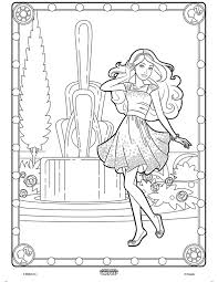 Small Picture Color Alive Barbie on crayolacom Coloring Pages Pinterest