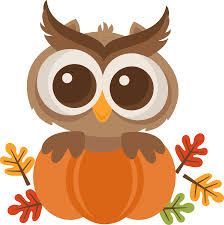 Owl Autumn Clipart - Png Download - Full Size Clipart (#5245555) -  PinClipart