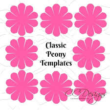 Paper Flower Template Pdf Printable Flower Templates Image 0 Printable Paper Rose Template Pdf