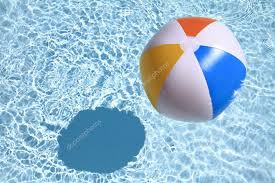swimming pool beach ball background. Exellent Swimming Summer Background Beach Ball On The Swimming Pool U2014 Stock Photo Inside Swimming Background W