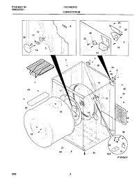 Y2705802 00002 and frigidaire dryer parts diagram