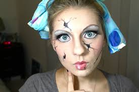 ed doll halloween makeup tutorials for a cute creepy costume videos
