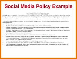 11 12 Policy Examples Leterformat