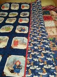 38 best Paddington quilts images on Pinterest | Baby quilts ... & Paddington Bear quilt. Back material is glow in dark flannel. Adamdwight.com