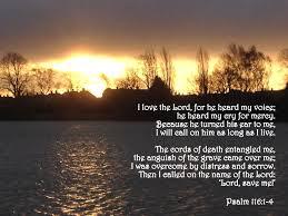 psalm 116 1 4