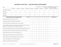 Medical Record Chart Audit Tool Medical Chart Audit Tool