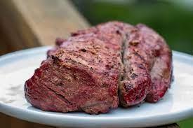 traeger smoked beef tenderloin pellet