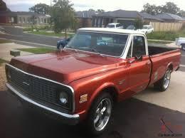 1971 Chevrolet C10 Custom Deluxe