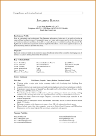 Resume Profile Summary Examples Free Resume Example And Writing