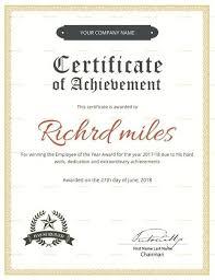 Achievement Awards Templates Achievement Certificate Awards Certificates Templates