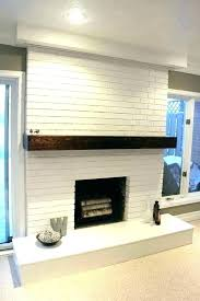 brick fireplace painted white brick for fireplace brick fireplace painted white