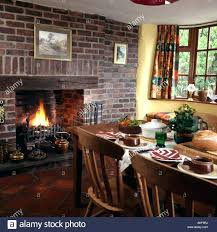 cleaning red brick fireplace a exposed brick fireplace picture painting cleaning lighted fire wall cottage dining cleaning red brick fireplace