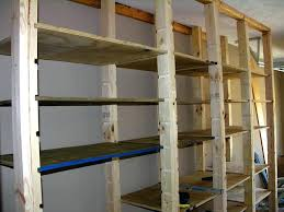 full image for diy garage shelves plangarage storage ideas hanging wall
