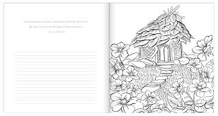 Amazon Com In His Presence Adult Coloring Book With Journal Color