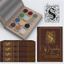 pre wizardry and witchcraft 12 colors harry potter storybook matte eye shadow makeup palette