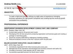 Tips For The Perfect Resume Dualwarez