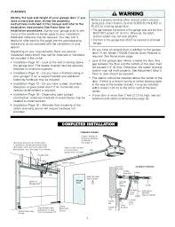 sear craftsman garage door opener manual craftsman 1 2 hp garage door opener manual sears garage