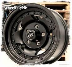 Details About 15 X7 Inch Black American Racing Ar23 Rims Fits S10 4x2 Camaro El Camino 5x4 75
