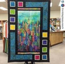Panel Quilt Patterns Mesmerizing 48 Best Panel Quilts Images On Pinterest Quilt Pattern
