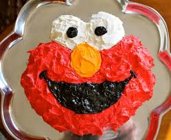 Elmo Cake Tutorial For Dummies Without An Elmo Cake Pan The Food