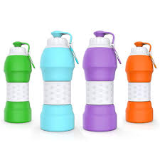 Silicone Design Wholesale New Design Sport Custom Silicone Collapsible Water Bottle Of Portable Buy China Suppliers Pocketsized Foldable Water Bottle