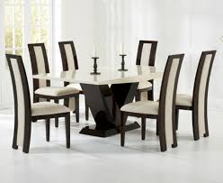 white interior color and elegant chairs with modern table set for