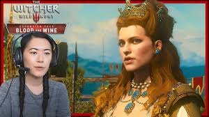 Nice to meet you Anna Henrietta!   The Witcher 3: Blood and Wine Lets Play  PART 2 - YouTube