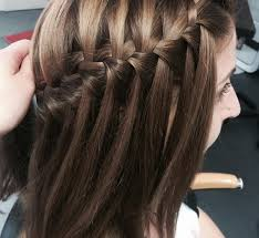 Hairstyle Waterfall bored of regular braids try a waterfall hairstyle this season 8342 by stevesalt.us