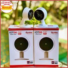 Camera IP Wifi thông minh IOT06 Global 2Mb 1080P CHÍNH HÃNG - Đàm thoại 2  chiều, Báo động, Hình ảnh HD sắc nét - Hệ thống camera giám sát Nhà sản xuất