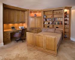 home office with murphy bed. Costco Murphy Bed Traditional Home Office And Built In Cabinets Desk Convertible Space Guest With L
