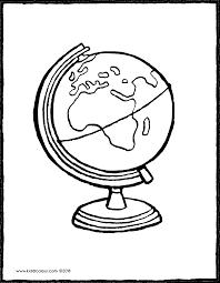 Wereldbol Kiddicolour
