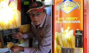 Hot Chip Vending Machines Australia Delectable Hot Chips Company Invents World's First HOT CHIP Vending Machine