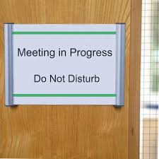 snap door sign makes it easy to keep office name plates up to date