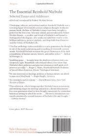 the essential reinhold niebuhr selected essays and addresses the essential reinhold niebuhr selected essays and addresses reinhold niebuhr robert mcafee brown 9780300040012 com books