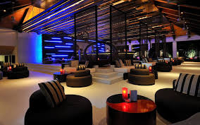 game room lighting. Luxury Game Decoration With Modern Sofa And Blue Lighting Design Ideas Room E
