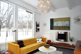Amazing 1958 Mid Century Modern Remodel  Sunroom Conversion Midcentury Living Room Images
