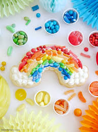 Rainbow Cookie Cake Recipe Party Ideas Party Printables Blog