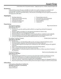Operations Manager Management Gas Station Manager Resume Gas Custom Resumé Definition