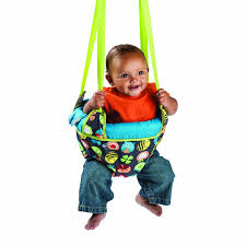 evenflo exersaucer doorway baby jumper bouncer swing jumping