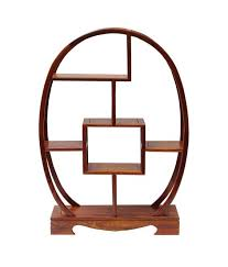 Small Table Display Stands Chinese Rosewood Oval Small Table Top Curio Display Stand cs100S 32